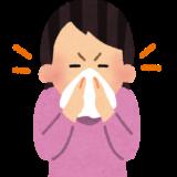 54歳私=中高年、乾燥を防ぐ、乾燥は本当に大敵。鼻水は適度に取れ。